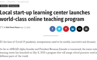 Local start-up learning center launches world-class online teaching program